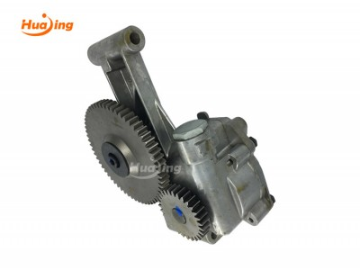 Internal gear oil pump working principle