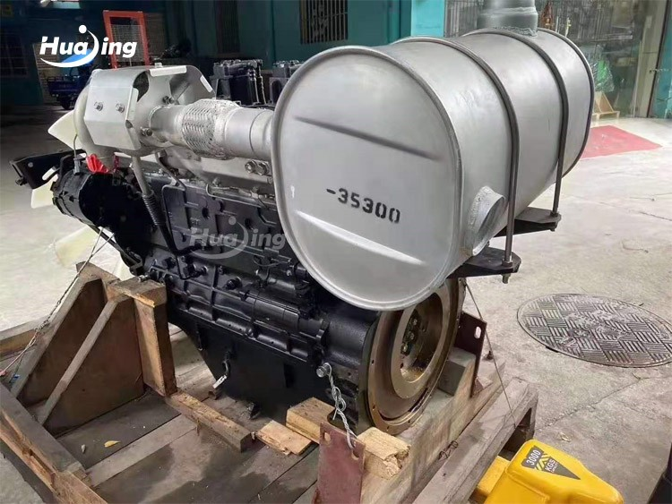 CAT S6KT Engine Assembly
