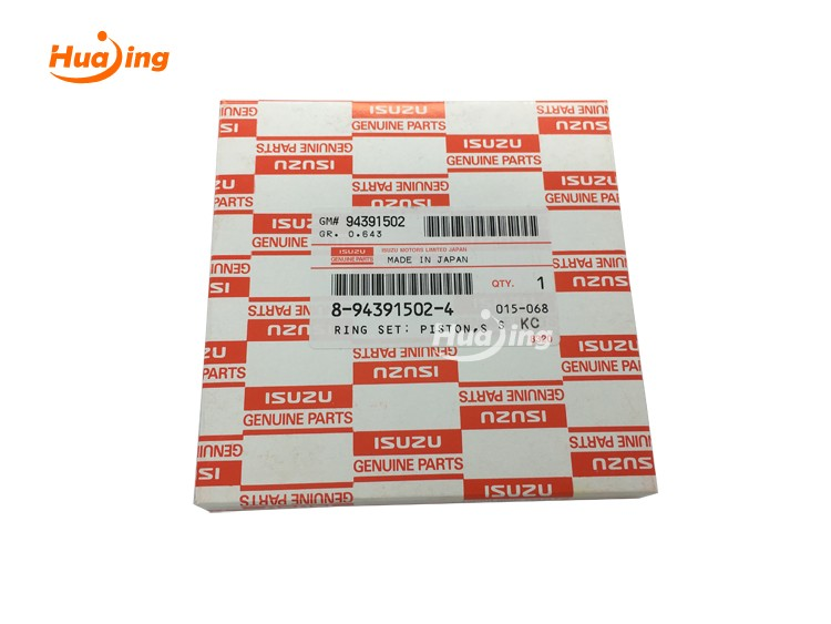 6HK1 Piston Ring 8-94391502-4