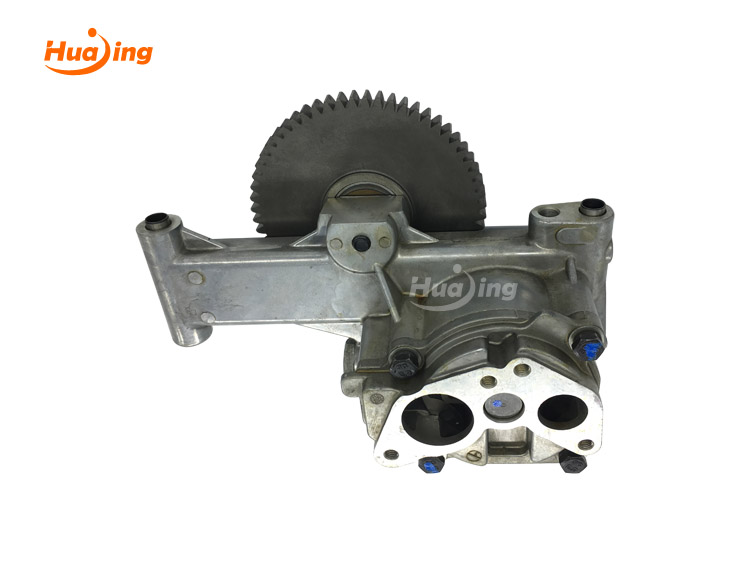 Internal gear oil pump working principle