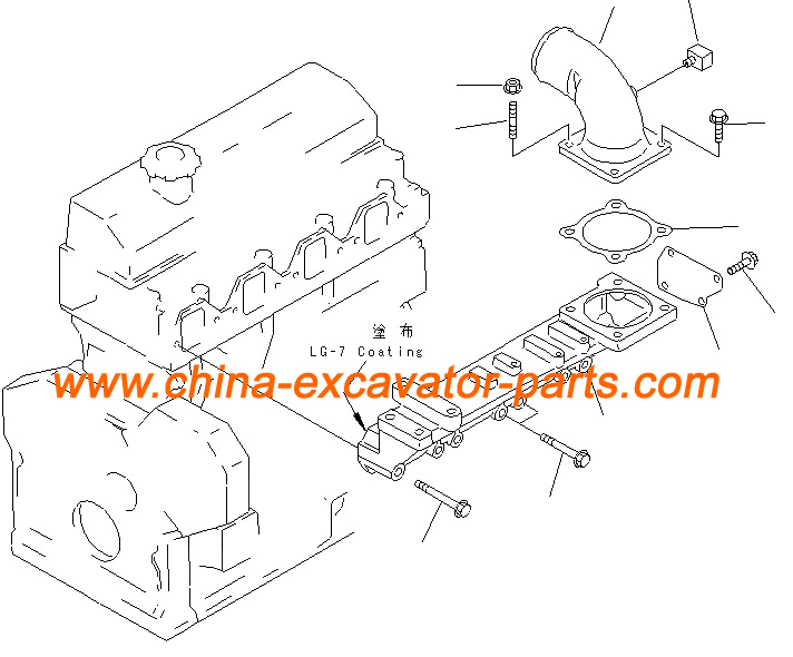 4D95 Air Intake Manifold