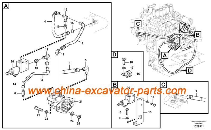 VOE14533496 Fan Motor