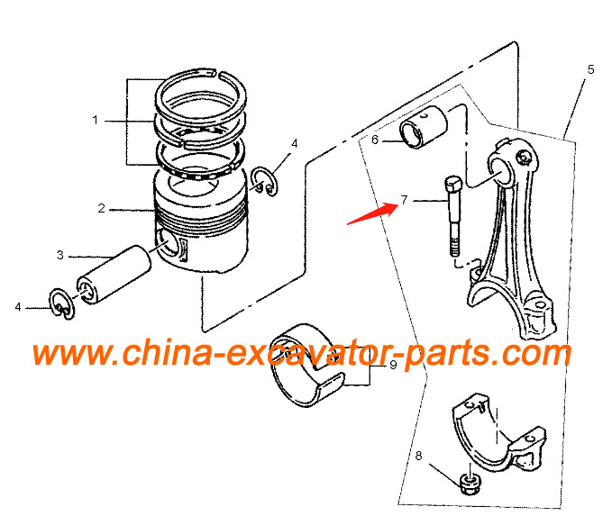 34319-01010 Connecting Rod